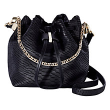Buy Karen Millen Snake Baby Bucket Bag Online at johnlewis.com