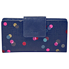 Buy Fossil Emma Tab Purse, Navy Online at johnlewis.com
