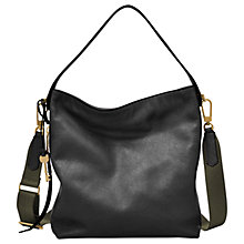 Buy Fossil Maya Small Leather Hobo Bag Online at johnlewis.com