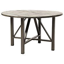 Buy KETTLER LaMode Round Garden Dining Table, Grey Online at johnlewis.com