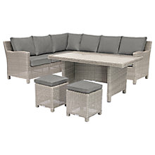 Buy KETTLER Palma 4 Seater Corner Set With Glass Top Table Online at johnlewis.com