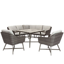 Buy KETTLER LaMode 5 Seater Lounging Corner Set, Grey Online at johnlewis.com