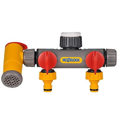 Hozelock 3 Way Flowmax Tap Connector