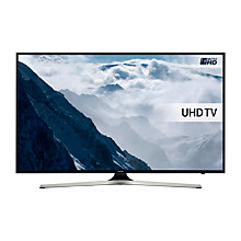 "Buy Samsung UE40KU6020 HDR 4K Ultra HD Smart TV, 40"" with Freeview HD, Playstation Now & PurColour Online at johnlewis.com"