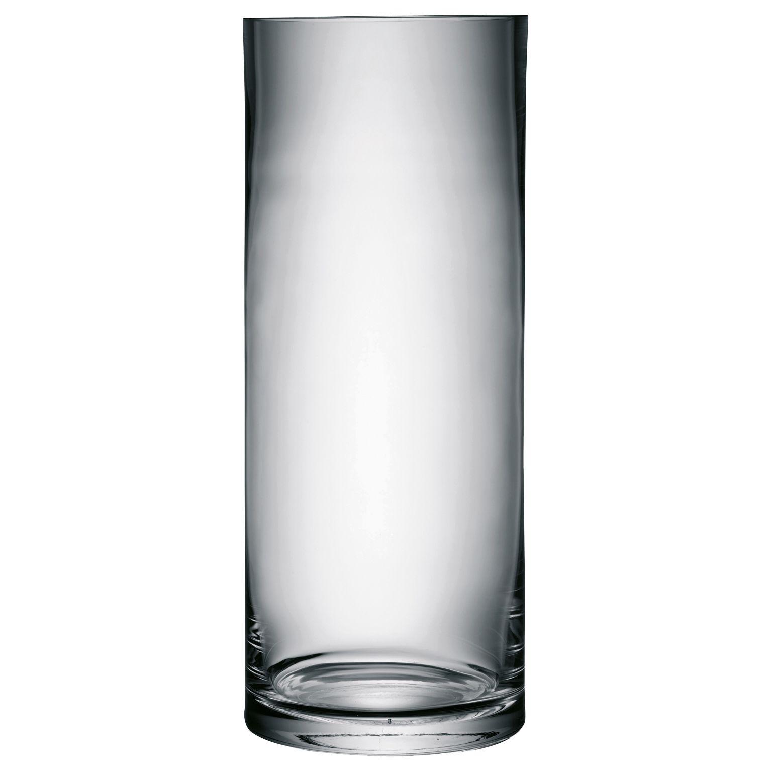 LSA International LSA International Column Vase, H50cm, Clear