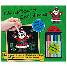 Buy Chalkboard Christmas Children's Book Online at johnlewis.com