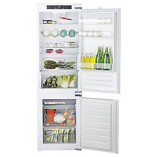 Buy Hotpoint HM7030ECAAO3 Integrated Frost Free Fridge Freezer, A+ Energy Rating, 54cm Wide, White Online at johnlewis.com