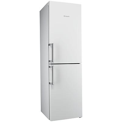 Hotpoint Ultima XJL95T2UWOH Freestanding Frost Free Combi Fridge Freezer, A++ Energy Rating, 60cm Wide, White