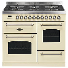 Buy Britannia Fleet RC-10XGG-FL Dual Fuel Range Cooker Online at johnlewis.com