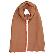 Buy Oasis Plain Brushed Woven Scarf, Multi Online at johnlewis.com