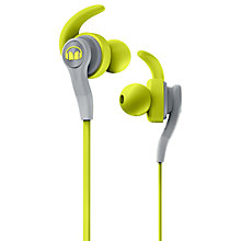Buy Monster iSport Compete In-Ear Headphones with ControlTalk Mic/Remote, Neon Green Online at johnlewis.com