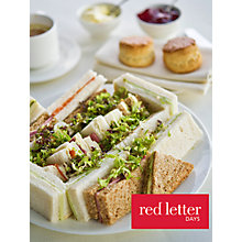 Buy Red Letter Days Thames Afternoon Tea Cruise Online at johnlewis.com