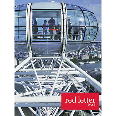 Red Letter Days Lunch Cruise and London Eye For 2