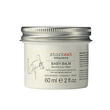 Buy Storksak Organics Baby Balm, 60ml Online at johnlewis.com
