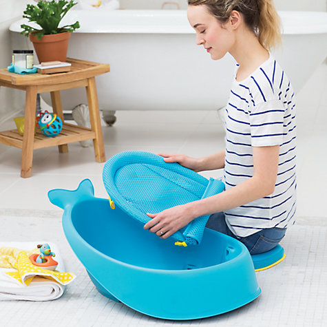 buy skip hop moby 3 stage baby bath tub john lewis. Black Bedroom Furniture Sets. Home Design Ideas