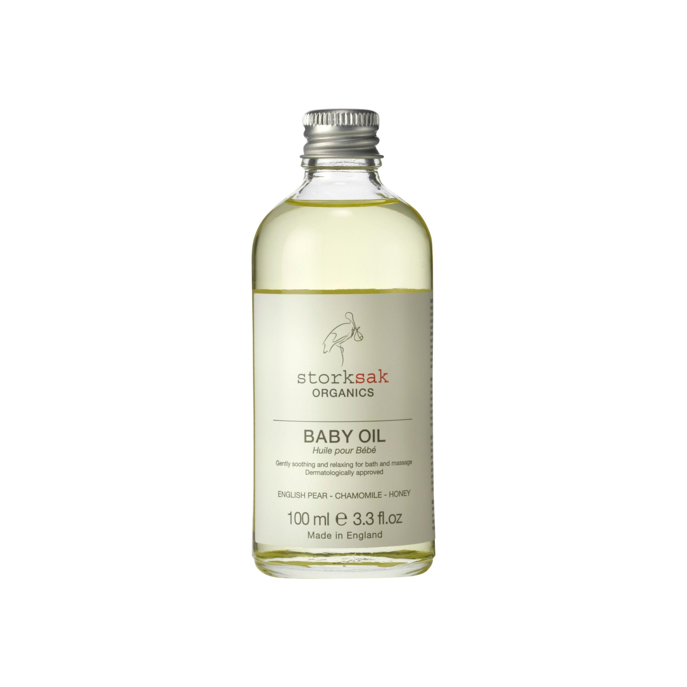 Storksak Storksak Organics Baby Oil, 100ml