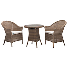 Buy KETTLER RHS Harlow Bistro Set, Natural Online at johnlewis.com
