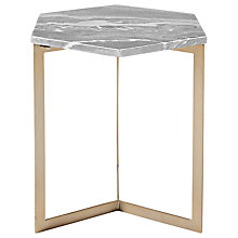 Buy west elm Hex Side Table Online at johnlewis.com