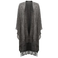 Buy Damsel in a dress Sabia Shawl, Silver Online at johnlewis.com