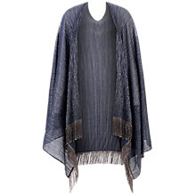 Buy Damsel in a dress Jacinta Shawl, Blue Online at johnlewis.com