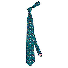 Buy Thomas Pink Harrogate Flower Woven Silk Tie Online at johnlewis.com
