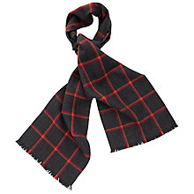 Buy Thomas Pink Chelsfield Check Merino Scarf Online at johnlewis.com