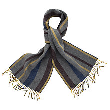 Buy Thomas Pink Hamilton Stripe Cashmere Wool Scarf Online at johnlewis.com