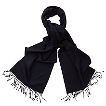 Buy Thomas Pink Signature Wool Cashmere Scarf Online at johnlewis.com
