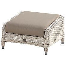 Buy 4 Seasons Outdoor Valentine Highback Footstool Online at johnlewis.com
