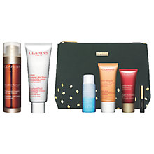 Buy Clarins Double Serum and Hand & Nail Treatment with Gift Online at johnlewis.com