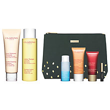 Buy Clarins Cleanser and Toning Lotion, Dry Skin, with Gift Online at johnlewis.com