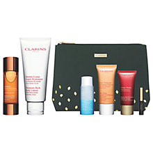 Buy Clarins Radiance Plus Golden Glow Booster and Body Lotion with Gift Online at johnlewis.com