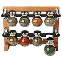 Buy Olde Thompson Spice Rack, 8 Jar Online at johnlewis.com
