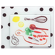 Buy kate spade new york Pretty Pantry Chopping Board Set, Set of 2 Online at johnlewis.com