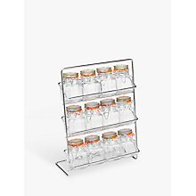 Buy Hahn 12 Jar Spice Rack With Kilner Jars Online at johnlewis.com