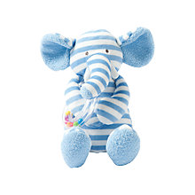 Buy Manhattan Toy Giggle Elephant with Rattle Soft Toy Online at johnlewis.com