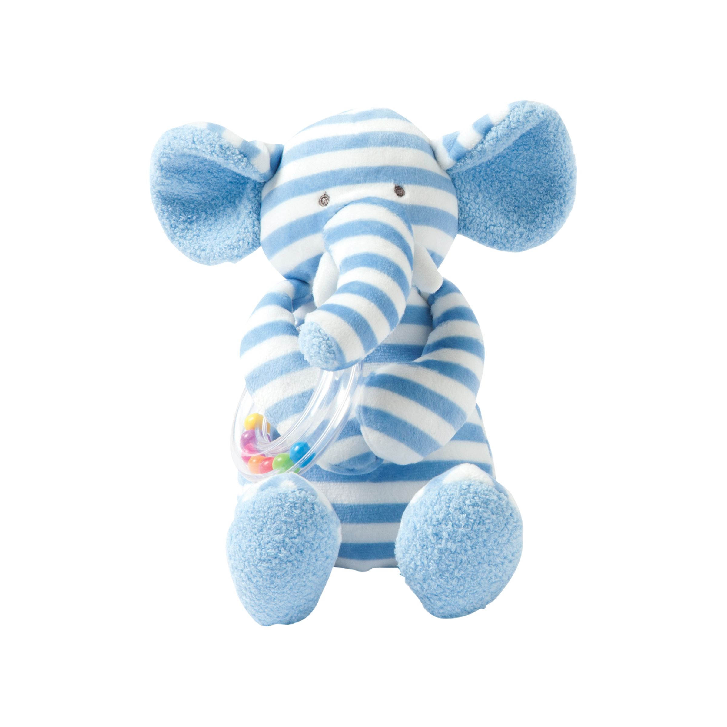 Manhattan Toy Manhattan Toy Giggle Elephant with Rattle Soft Toy