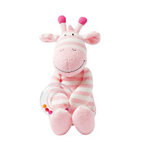 Buy Manhattan Toy Giggle Giraffe with Rattle Soft Toy Online at johnlewis.com