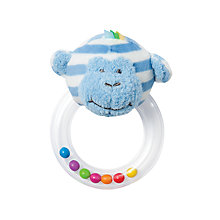 Buy Manhattan Toy Giggle Monkey Soft Toy Ring Rattle Online at johnlewis.com