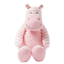 Buy Manhattan Toy Giggle Hippo Soft Toy, Large Online at johnlewis.com
