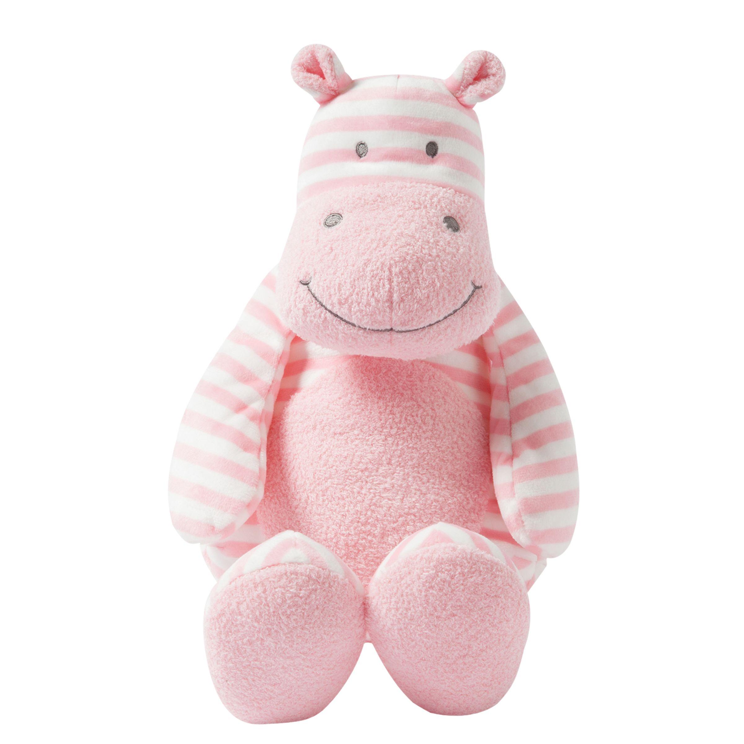 Manhattan Toy Manhattan Toy Giggle Hippo Soft Toy, Large