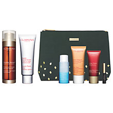 Buy Clarins Double Serum and Beauty Flash Balm with Gift Online at johnlewis.com