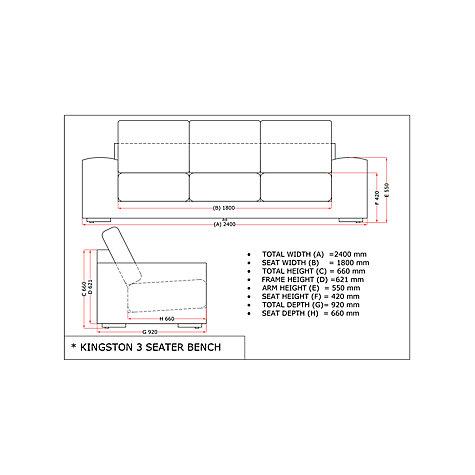 Buy 4 seasons outdoor kingston 6 seater garden lounge set pure online