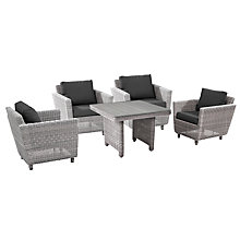 Buy 4 Seasons Outdoor Fortaleza Fortaleza 'Cosy Dining' 4 Seater Garden Dining Set, Natural Online at johnlewis.com