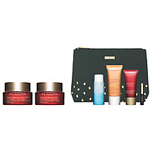 Buy Clarins Super Restorative Day Cream and Night Cream with Gift Online at johnlewis.com