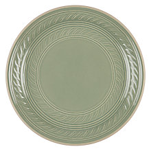 Buy John Lewis Croft Collection Amberley Textured Platter, Natural Online at johnlewis.com