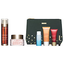 Buy Clarins Double Serum and Wrinkle Lifting Cream with Gift Online at johnlewis.com