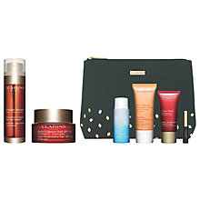 Buy Clarins Double Serum and Restorative Day Cream with Gift Online at johnlewis.com