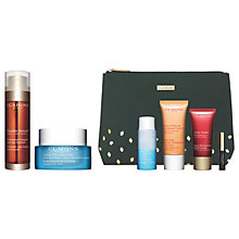 Buy Clarins Double Serum and HydraQuench Cream with Gift Online at johnlewis.com