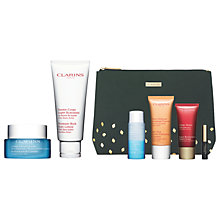 Buy Clarins HydraQuench Cream and Body Lotion with Gift Online at johnlewis.com